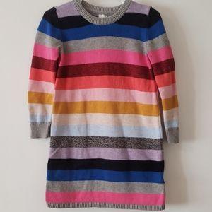 Baby Gap Multi Stripe Sweater Dress